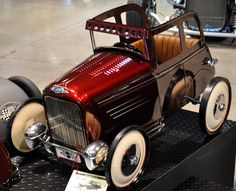 Just a Car Guy: the Duece Week pedal cars customized by the best in the hot rod customizing business were on display at the GNRS