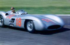 Reims 1954 Fangio Mercedes