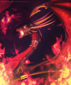 TLoS - Dark Fire by DragonOfIceAndFire.deviantart.com on @DeviantArt