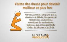 la-doua-du-musulman-productif