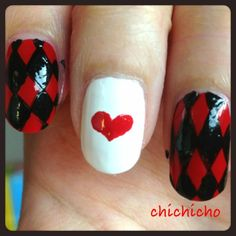 Alice in Wonderland's Bunny nails | chichicho~ nail art addicts
