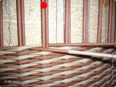 Поделка изделие Плетение Ответ на вопросы или маленький МК Трубочки бумажные фото 6