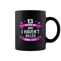 13 years Wedding Anniversary Gifts For For Wife Funny Mug
