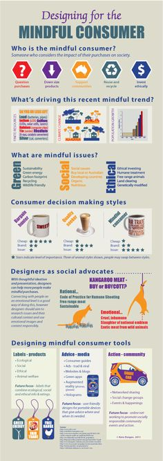 Who is a mindful consumer