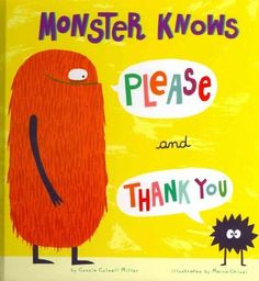 Monsters sip, and squish, and slosh. It's fun on Oogle Day. Please and thank you can be heard such magical words to say!