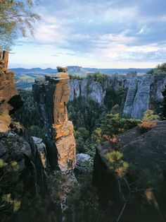 Saxony Switzerland National Park is located in the heart of the Elbe Sandstone Mountains on the German border with the Czech Republic. Only 40 kilometres from Dresden, the craggy gorges and fissured heights of the park are almost completely covered with forests