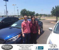 https://flic.kr/p/J6QQdo   Congratulations Sara on your #Hyundai #Sonata from Jerry Michalak at Fenton Hyundai!   deliverymaxx.com/DealerReviews.aspx?DealerCode=H248