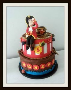 Piraten taartje