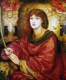Sybilla Palmifella Pre Raphaelite Brotherhood Dante Gabriel Rossetti art for sale at Toperfect gallery. Buy the Sybilla Palmifella Pre Raphaelite Brotherhood Dante Gabriel Rossetti oil painting in Factory Price. Dante Gabriel Rossetti, John William Waterhouse, John Everett Millais, Gustav Klimt, Renoir, Lady Lever Art Gallery, Pre Raphaelite Paintings, Oil Canvas, Edward Burne Jones