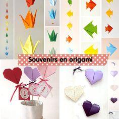 Souvenirs en origami