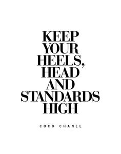 Keep Your Heels High Inspirational Quote Typography Print Art Print by The Motivated Type | Society6