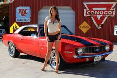 two of my favorites…..Camaros and Chevelles!!