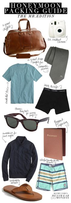 What to pack for your honeymoon. Honeymoon Clothes