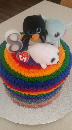 f00f709783c Beanie Boo Birthday Party Cake Beanie Boo Birthdays