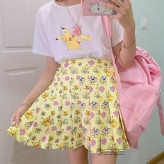 "Cute kawaii cartoon skirt SE9056  Coupon code ""sanrense"" for 10% off"