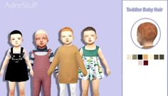 Baby Hair at Aslee • Sims 4 Updates