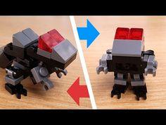 [LEGO Mini Robot Tutorial] Baby Transformer Dinosaur T-Rex(Tyrannosaurus) Robot /ミニレゴ変身ロボ/미니 레고 변신로봇 Cool Robots, Cool Lego, Tyrannosaurus, Lego Moc, Robot Dragon, Lego Transformers, Robot Dinosaur, Lego Boxes, Micro Lego