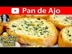 Receta de cómo hacer PAN DE AJO!!!  (Más recetas más abajo).  Super fácil y delicioso!! :D  Excelente para acompañar pastas, pizzas, cremas, sopas, ...