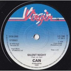 """7"""" 45RPM Silent Night/Cascade Waltz by Can from Virgin (VS 166)"""