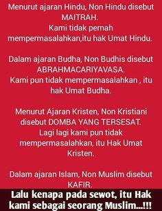 Bhineka Tunggal Ika  #NKRI #Indonesia #Islam #Moslem #Muslim #Kepercayaan #Agama