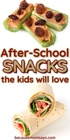 These easy after school snacks for kids are a quick way to get them something healthy fast! You can use these recipes to make ahead snacks or just whip something up for on the go! Healthy Homemade Snacks, Quick Snacks, Healthy Snacks For Kids, Easy Healthy Recipes, Kid Snacks, Healthy Food, Frugal Recipes, Summer Snacks, Snacks Recipes