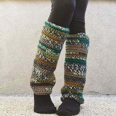 A personal favorite from my Etsy shop https://www.etsy.com/listing/245777536/bulky-multicolor-autumn-forest-leg