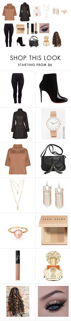 """""""plus size style"""" by sarah4ever123 ❤ liked on Polyvore featuring H&M, Christian Louboutin, Relaxfeel, ASOS Curve, Isolde Roth, Avenue, Forever 21, Bobbi Brown Cosmetics, NARS Cosmetics and Vince Camuto"""