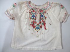 hungarian folk embroidery | Hungarian Embroidered Blouse | Embroidery Online