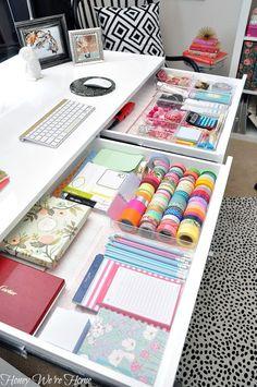 Wenn es in meinem Schreibtisch nur auch so ordentlich wäre