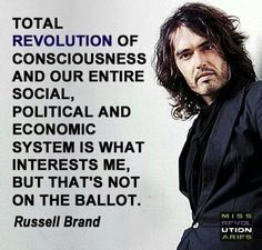 Russell Brand quote.