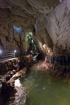 Stiffe show cave - S. Demetrio ne' Vestini - L'Aquila - Abruzzo