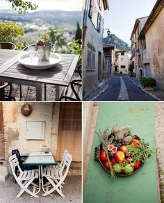 Saint Jeannet, France - near Nice and one of the locations from the film 'To Catch A Thief'