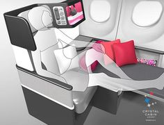 An economy seat that changes to a business-class seat (and back again) is the new buzz in the airline industry. The Butterfly Seats are getting buzz because they give airlines the ability to adjust their seating configurations at will: On one flight, an airline could opt for more premium economy seats; on another, they can change the seats to business class.