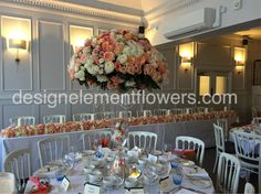 Stunning Table Centre and Top Table
