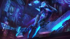 Download PROJECT: Ashe Skin Splash Art 4K UHD 3840x2160