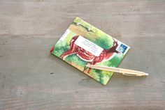 How to make an envelope out of any piece of paper.     #crafts