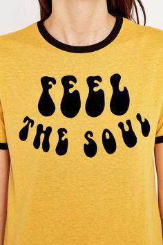Feel the Soul Ringer Tee