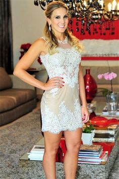 Charming Prom Dress,Lace Prom Dress,Sexy Party Dress,Short Dress
