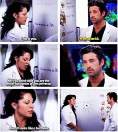 Callie and Derek