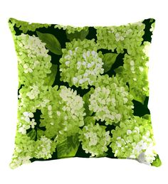 "Polyester Classic Throw Pillow, 15"" sq. x 7"" - Forest Green 