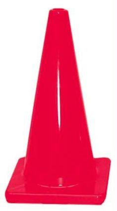 "18"" Traffic Cone - Red"