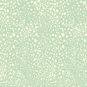 kelp dot - coral colorway @ Spoonflower