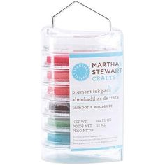 Martha Stewart Crafts Vintage Girl Ink Pad Multipack