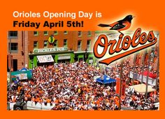 Baltimore Orioles Opening Day Weather History at Camden Yards