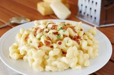 "The Kitchen is My Playground: 5-Cheese Stovetop Macaroni and Cheese {from ""In the Kitchen with David®""}"