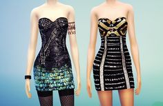 MissFortune Sims: 15 Dresses, 3 Jumpsuits, 3 Skirts, 3 Tops,  2 Blazers,  2 Sweaters, 2 Outfits