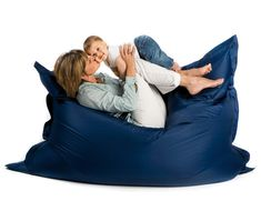 The Original: This state of the art bean bag chair is multifunctional. Use it as an extra guest bed, an alternative sofa, a children's playground, a relaxing haven… The Sit On It bean bag chair is water-resistant and is therefore fit for both indoor and outdoor use. The filling consists of virgin quality flame retardant EPS beads. $229 at http://loopeedesign.com/index.php/sit-on-it.html