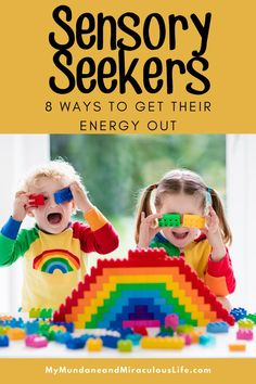 If your child is a #Sensory #Seeker there are easy ways to help them get rid of their extra energy! Kids Learning Activities, Sensory Activities, Sensory Play, Writing Prompts For Kids, Kids Writing, Sensory System, Fun Crafts For Kids, Parenting Advice, Things That Bounce