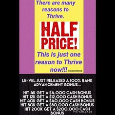 This is amazing!!! There has never been a better time to share Thrive and join the Le-Vel family! I didn't have either of these when I started what a great opportunity you have if you just take it! Set up a call with me ASAP to fully understand why this is so AWESOME!  #thrive #discount #lasvegas #startnow #healthy #alwaysthriving #healthandwellness #natural #nutrition #supplements #fitness #fitmom #mompreneur #feelinggood #instagood #public #model #fitnessmodel #bossbabe #slay #hustle…