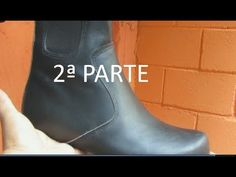 Como hacer el corte de bota capellada alta (2º parte). - YouTube Modelista, Dress Sewing Patterns, Hunter Boots, Rubber Rain Boots, Youtube, Shoes, Fashion, Shoe Designs, Slipper